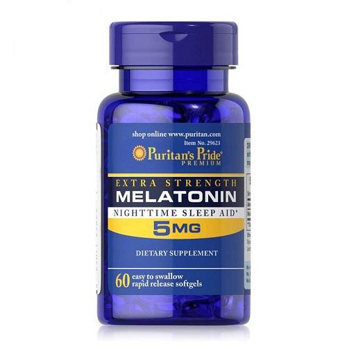 melatonin 5mg puritan's pride lọ 60 viên