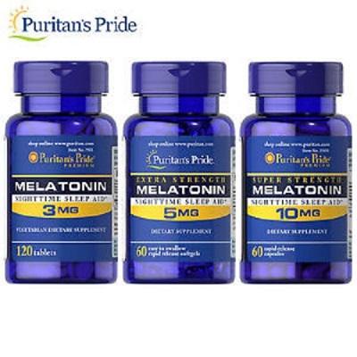 Melatonin 5mg điều chỉnh cảm giác buồn ngủ theo chu trình tự nhiên của cơ thể