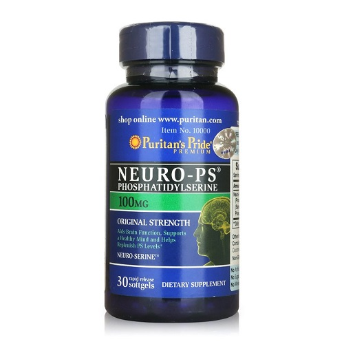 neuro ps 100mg puritan's pride lọ 30 viên