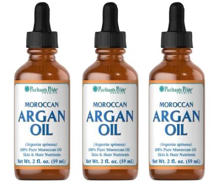 Tinh dầu moroccan argan oil puritan's pride vừa dùng để uống vừa để bôi da