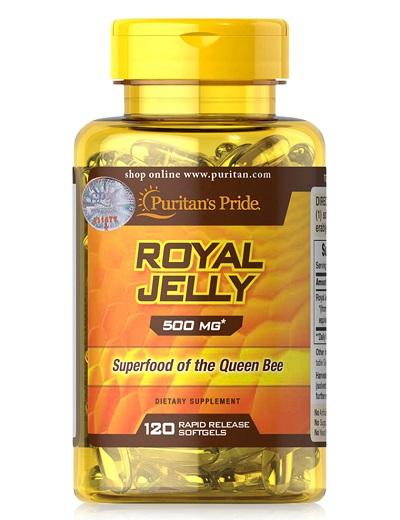 royal jelly 500mg puritan's pride 120 viên