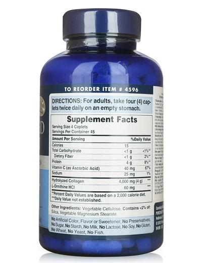 Phụ nữ uống 4 viên hydrolyzed collagen 1000 mg một ngày duy trì làn da trẻ đẹp
