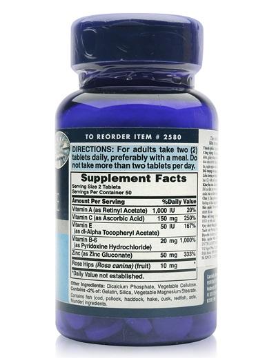 Người da nhiều mụn nên uống 2 viên zinc for acne puritan's pride một ngày
