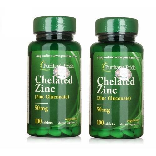 Chelated zinc 50mg tăng cường sinh lý và hỗ trợ hệ miễn dịch hoạt động