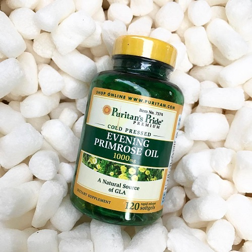 Evening primrose oil 1000 mg tăng cường chức năng buồng trứng và hệ nội tiết tố
