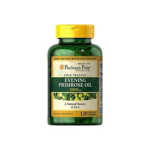 evening primrose oil 1000 mg puritan's pride 120 viên