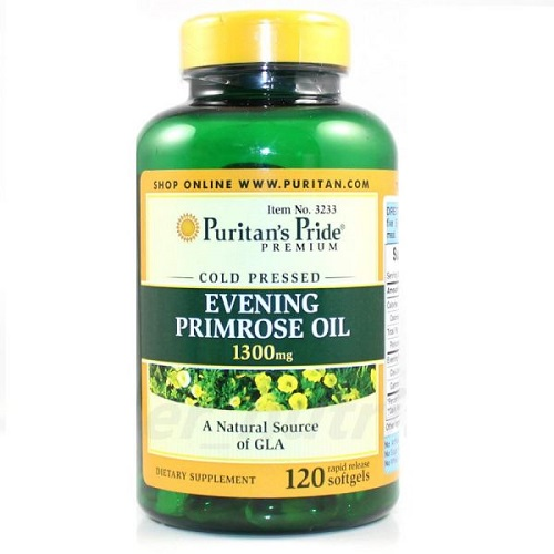 evening primrose oil 1300 mg puritan's pride 120 viên