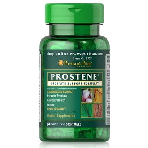 prostene prostate support formula puritan's pride 60 viên