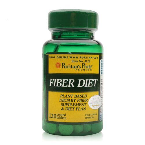 thực phẩm chức năng giảm cân của mỹ fiber diet puritan's pride 120 viên