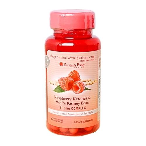 raspberry ketones & white kidney bean 60 viên