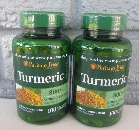 Turmeric 800mg hạn chế tế bào ung thư ngăn chúng sao chép di căn sang cơ quan khác