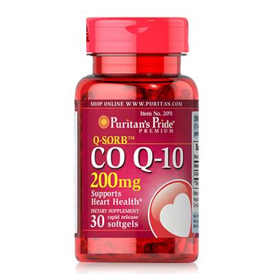 puritan's pride q-sorb coq10  200 mg 30 viên