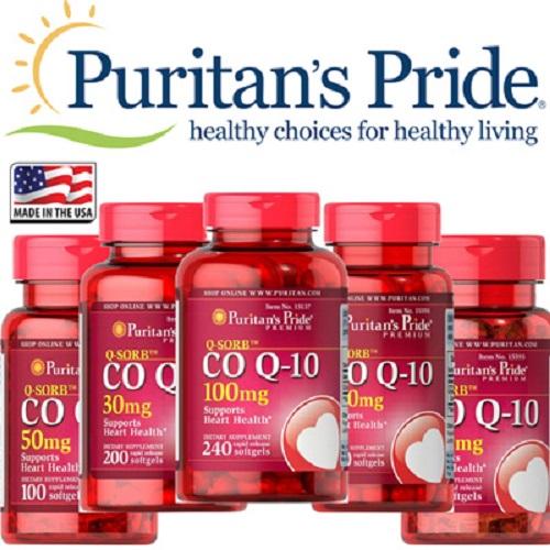 Coenzyme q10 200mg q-sorb hạn chế những cơn suy tim cấp tính bất chợt