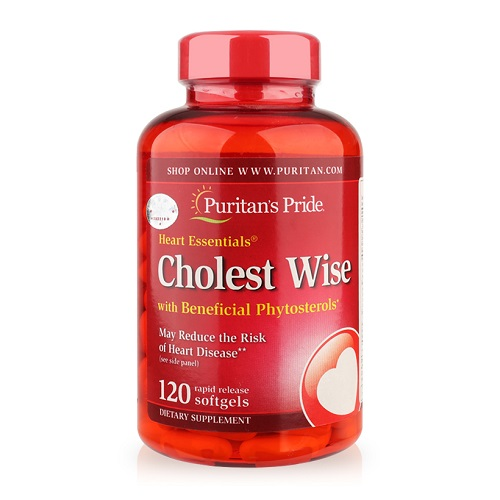 Cholest Wise Heart Essentials lọ 120 viên puritan's pride