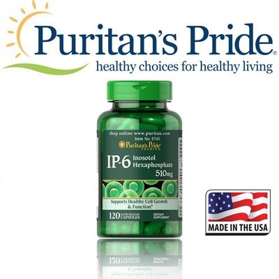 Ip-6 inositol hexaphosphate 510 mg loại bỏ kim loại nặng ra khỏi cơ thể