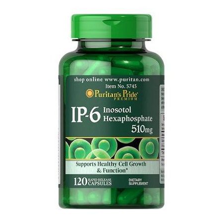 ip-6 inositol hexaphosphate 510 mg puritan's pride 120 viên