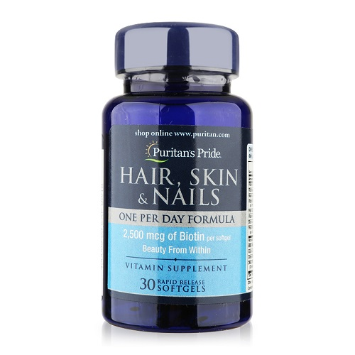 hair skin nails puritan's pride 30 viên