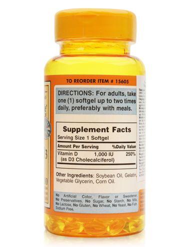 Vitamin d3 1000 iu là bộ đôi không thê thiếu với canxi để hấp thu vào xương