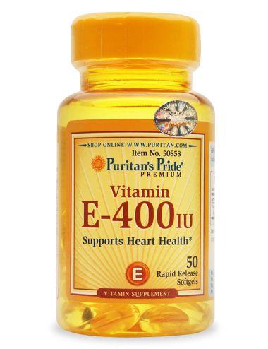vitamin e 400 iu puritan's pride lọ 50 viên