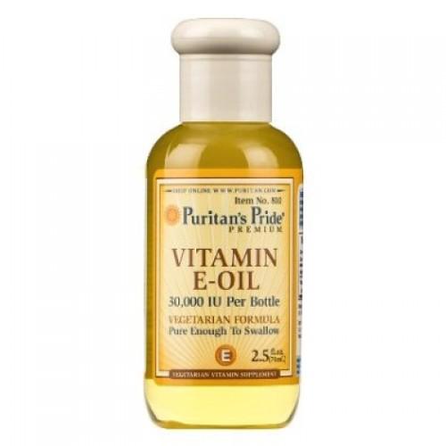 vitamin e oil 30000 iu  puritan's pride 100 viên