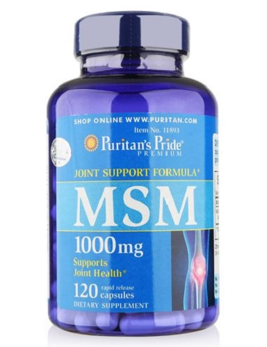 msm 1000 mg capsules puritan's pride 120 viên