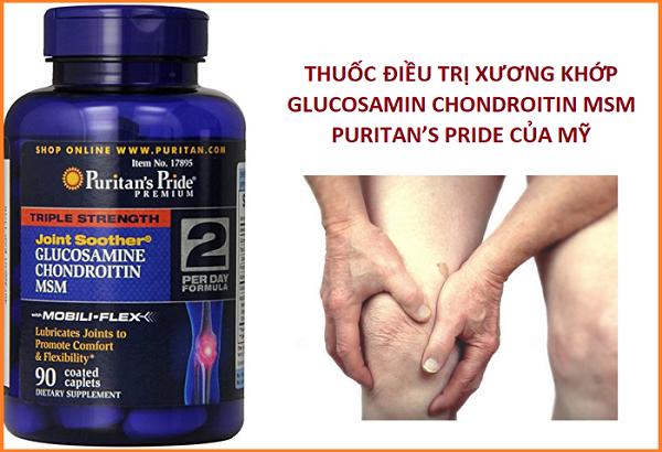 Uống 2 viên triple strength glucosamine chondroitin msm mỗi ngày ngăn ngừa viêm khớp