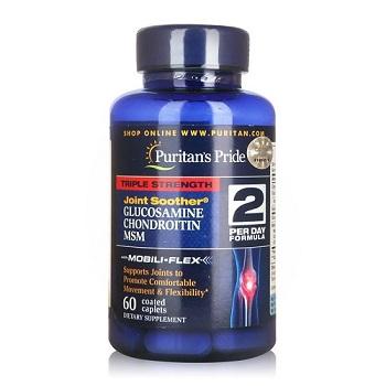 triple strength glucosamine chondroitin msm 90 viên