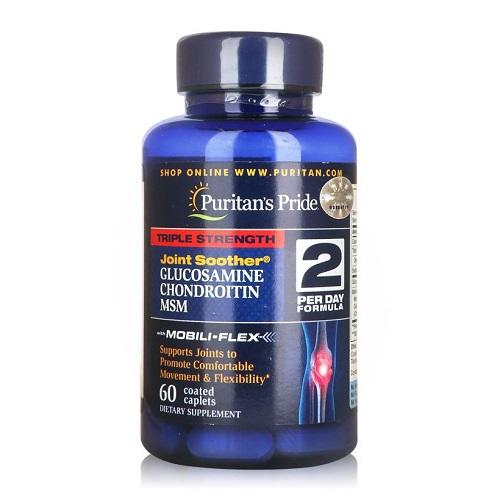triple strength glucosamine puritan's pride 60 viên