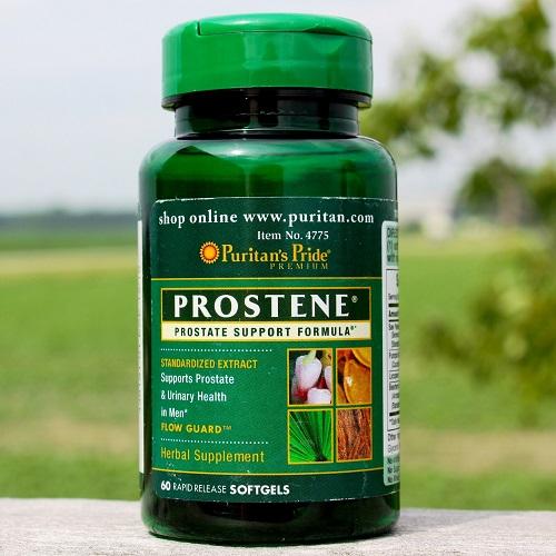 Người tiểu rắt nên uống 4 viên prostene prostate support formula mỗi ngày