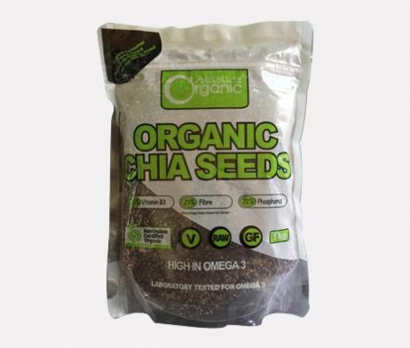 Hạt chia úc organic dạng túi bảo vệ sức khỏe và làm đẹp