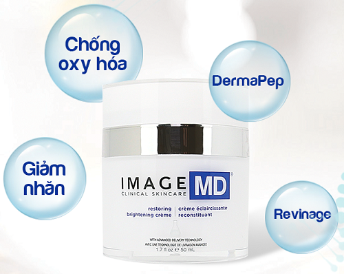 image md restoring brightening crème with adt technology tm