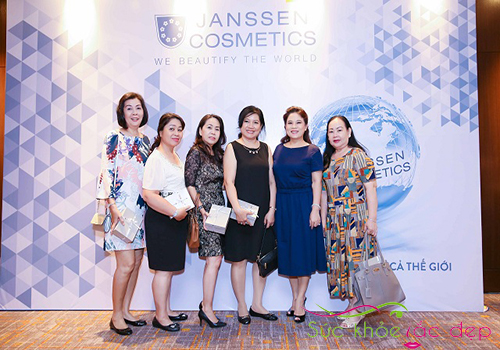 Thương hiệu Janssen Cosmetics uy tín