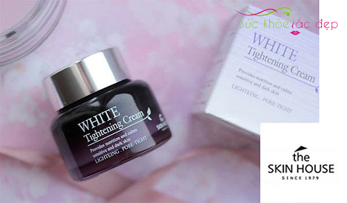 mua kem dưỡng white tightening cream the skin house ở đâu