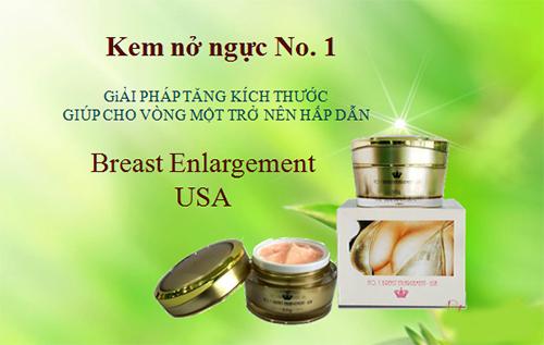 kem nở ngực No. 1 Breast Enlargement USA