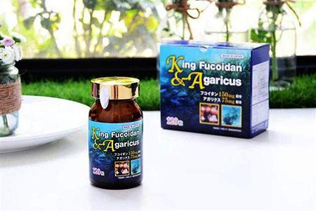 lưu ý khi sử dụng king fucoidan