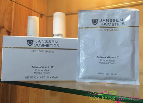 Măt nạ vitamin C Janssen