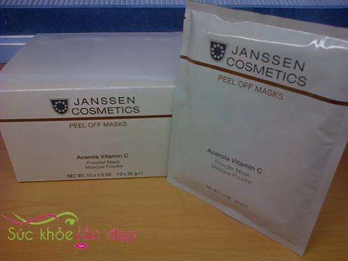 Janssen Acerola Vitamin C Mask review