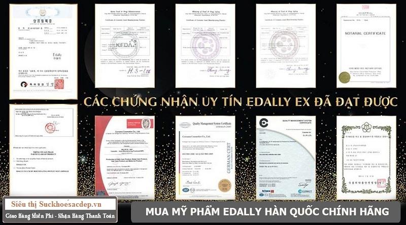 Combo Nâng Cơ Mặt V-Line Giúp Trẻ Hóa Làn Da Edally Hàn Quốc