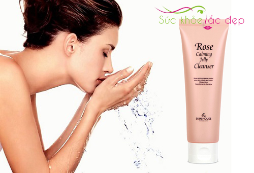 Công dụng của Rose Calming Jelly Cleanser