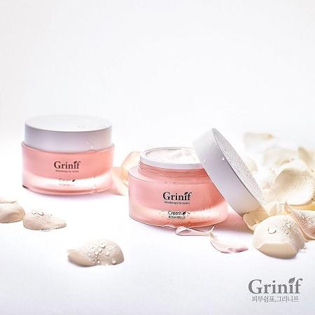 kem dưỡng da hoa hồng bungari rosa bella cream grinif