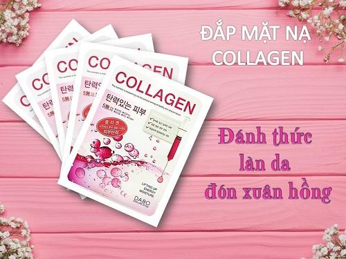 mặt nạ collagen dabo bổ sung collagen nuôi dưỡng làn da khỏe đẹp