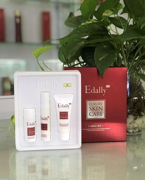 Set dưỡng cao cấp Luxury Skin Care Mini Edally