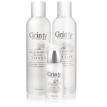 Bộ Ba Grinif Skincare Galactomyces Treatment