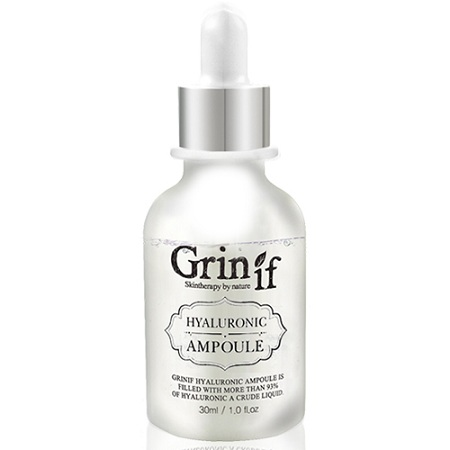 hyaluronic acid ampoule grinif 30 ml