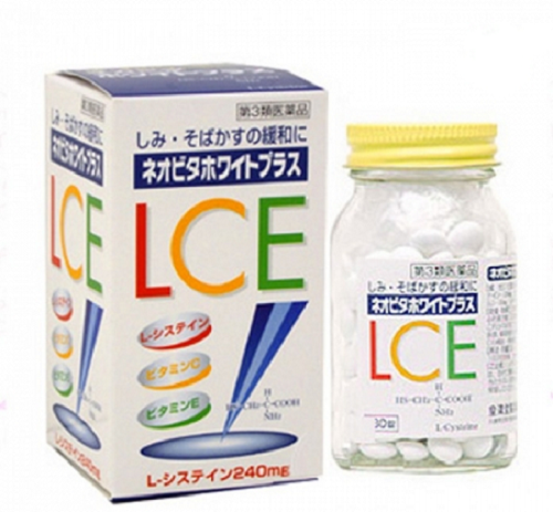 Viên uống trắng da trị nám White Plus LCE