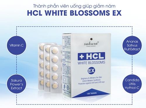 thành phần của sakura hcl white blossoms ex