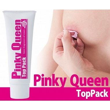 Kem bôi hồng nhũ hoa Pinky Queen Top Pack Nhật Bản