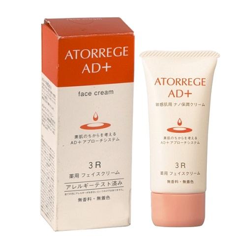Kem dưỡng ẩm Atorrege AD+ Medicated Face Cream của Nhật
