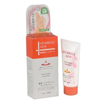 Kem dưỡng da tay Atorrege AD+ Medicated Hand Cream Cure Moist Nhật Bản