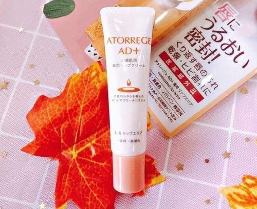 Kem dưỡng môi Atorrege AD+ Medicated Lip Area tuýp 12g Nhật Bản